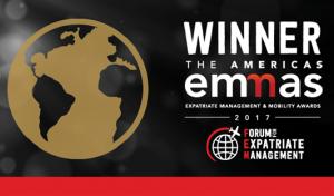 Winner the Americas Emmas